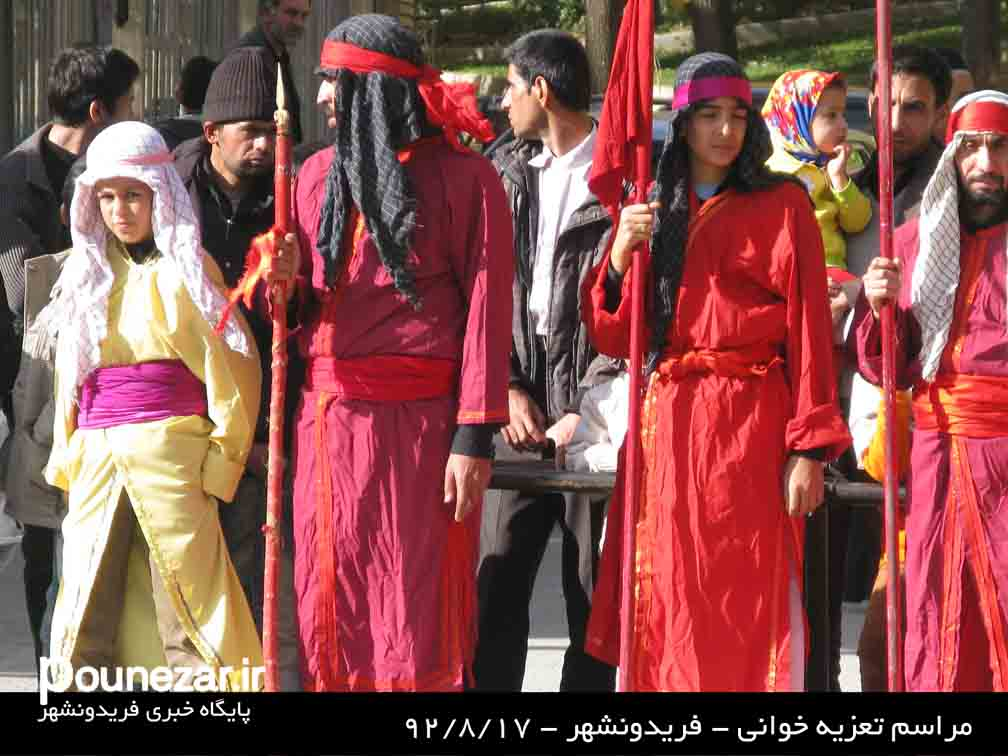 IMG 2436 گزارش تصویری از مراسم تعزیه خوانی فریدونشهر