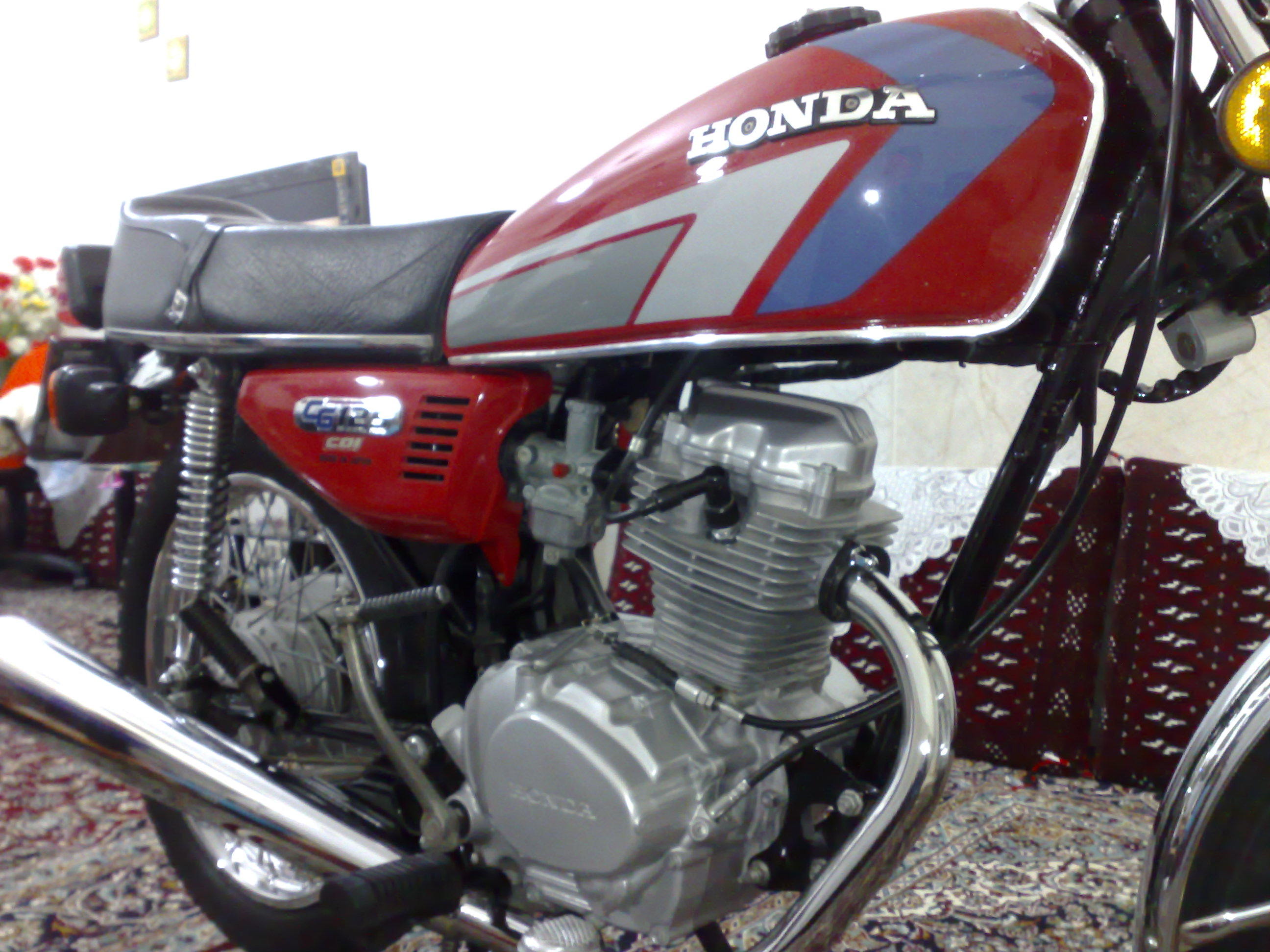 عکس موتور یاماها تریل ۱۲۵