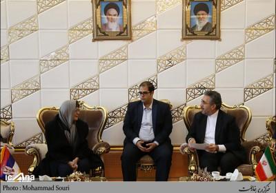استقبال نماینده فریدونشهر از رئیس مجلس صربستان در بدو ورود به تهران/تصاویر