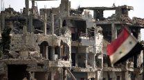 ویرانی های جنگ در سوریه