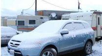 خودرو و برف