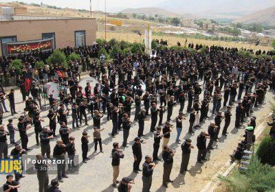اجتماع عزاداران فریدونشهری در روز تاسوعای حسینی/ تصاویر