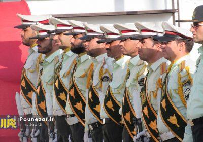 برگزاری صبحگاه مشترک در فریدونشهر به مناسبت آغاز هفته پلیس/ تصاویر