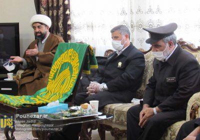 تصاویر| تجلیل خادمان امام رضا از مدافعان سلامت و شهدای فریدونشهر