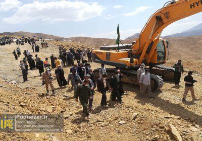 تصاویر  آغاز پروژه کوتاهسازی جاده پشتکوه فریدونشهر به همت بسیج